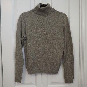 Lauren Ralph Lauren Gray Turtleneck Sweater